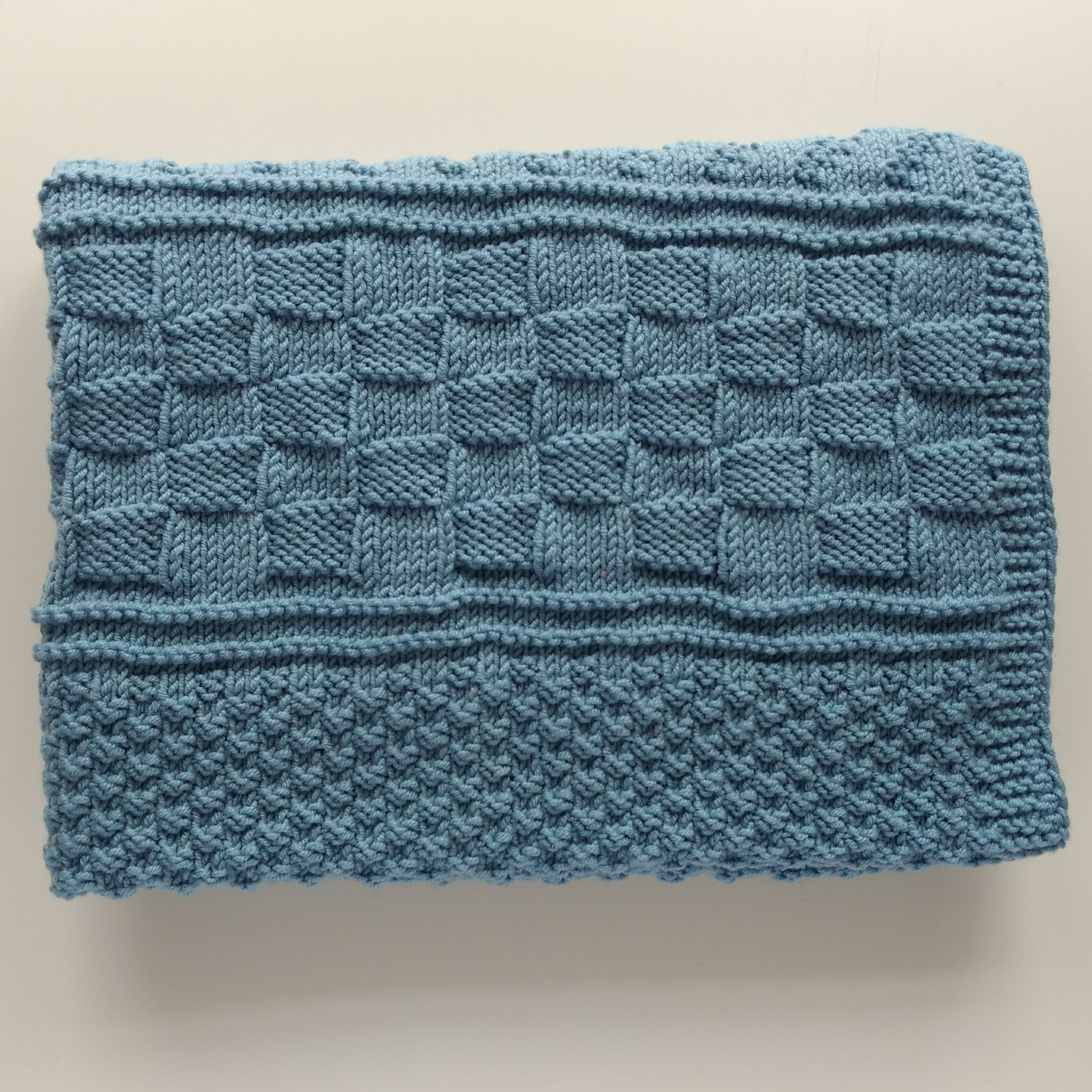 Ready to Ship - Petit Prince - Merino Blanket, Hand Knitted baby ...